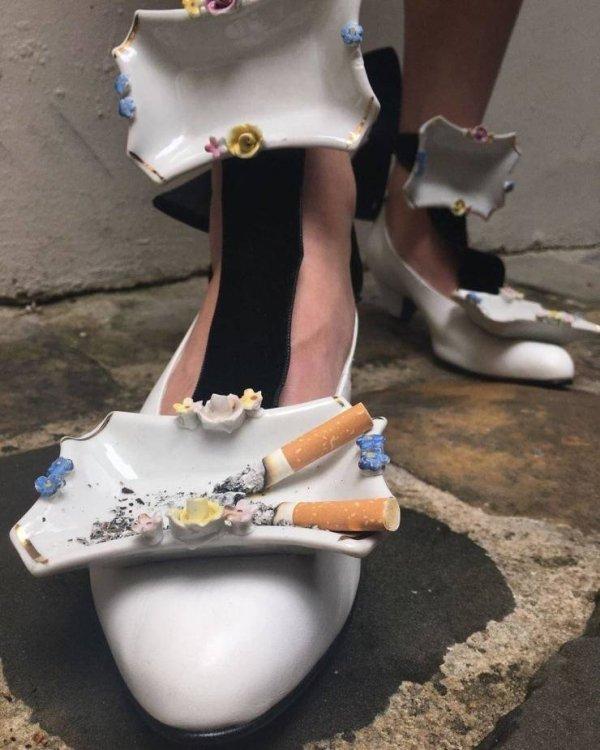 Туфли-пепельница