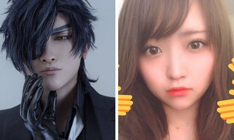 Косплеер в образе и в реальной жизни: новый флешмоб японского твиттера в мире, косплеер, косплееры, костюм, люди, флешмоб, япония