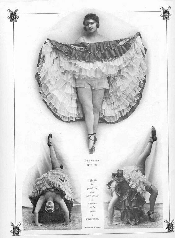 Мулен Руж , 1920 год варьете, девушки, интересное, история, кабаре, канкан, старые фото, фото