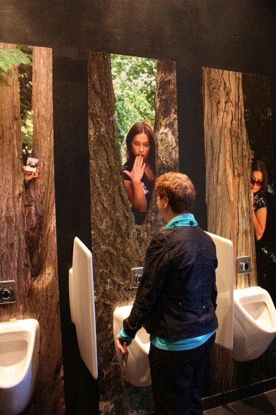 Туалет для нарциссов ванная комната, дизайн, санузел, смешно, туалет, юмор