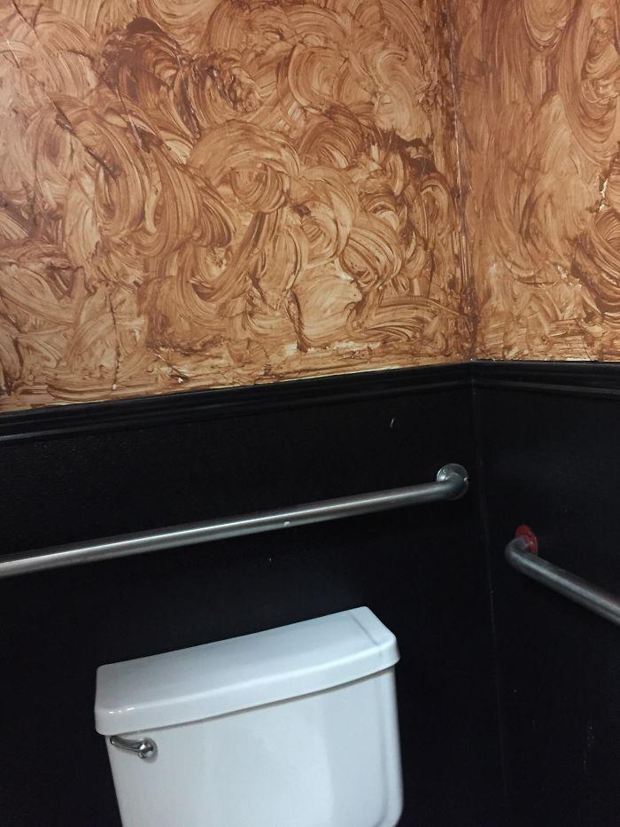 Боевой раскрас ванная комната, дизайн, санузел, смешно, туалет, юмор