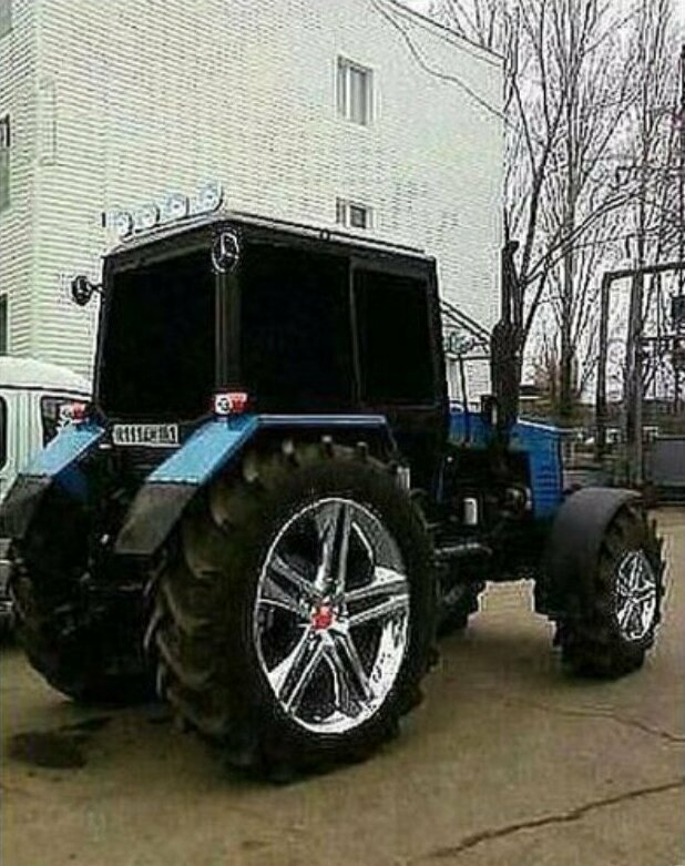 Моддинг тракторов авто, моддинг, мото, сельский моддинг, юмор