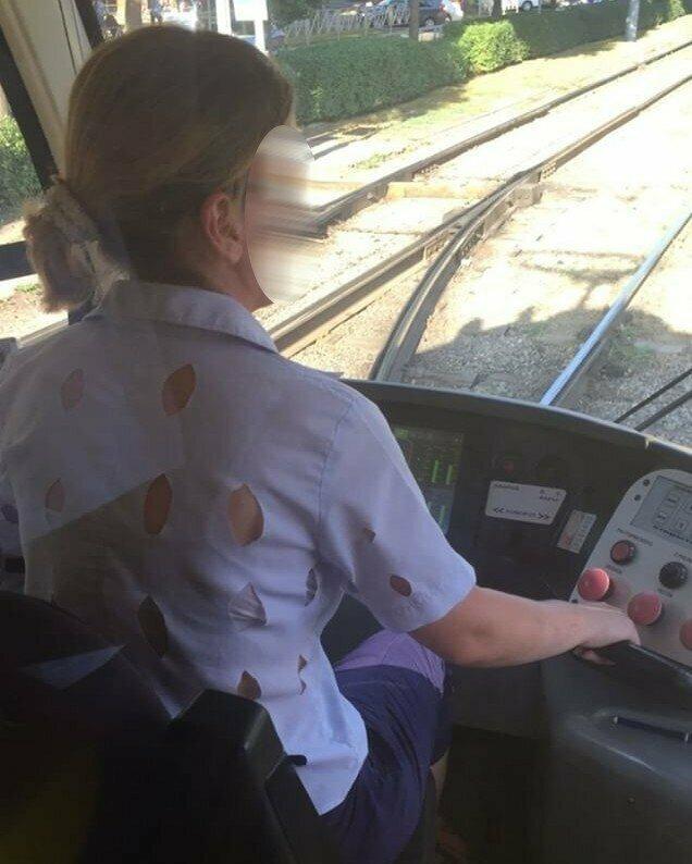 У трамвая своя неповторимая атмосфера автобус, маршрутка, общественный транспорт, прикол, юмор