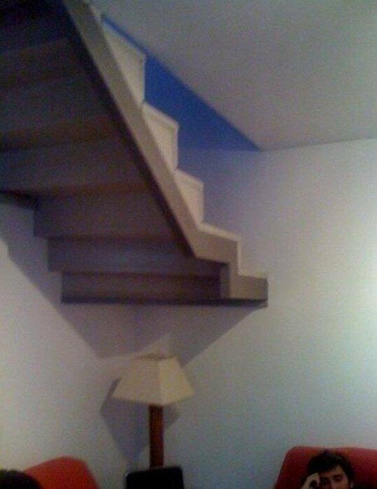 Есть вообще загадочные лестницы, маразмы, ну кто так строит, рукожопы, стройка, фейл, хогвартс, юмор