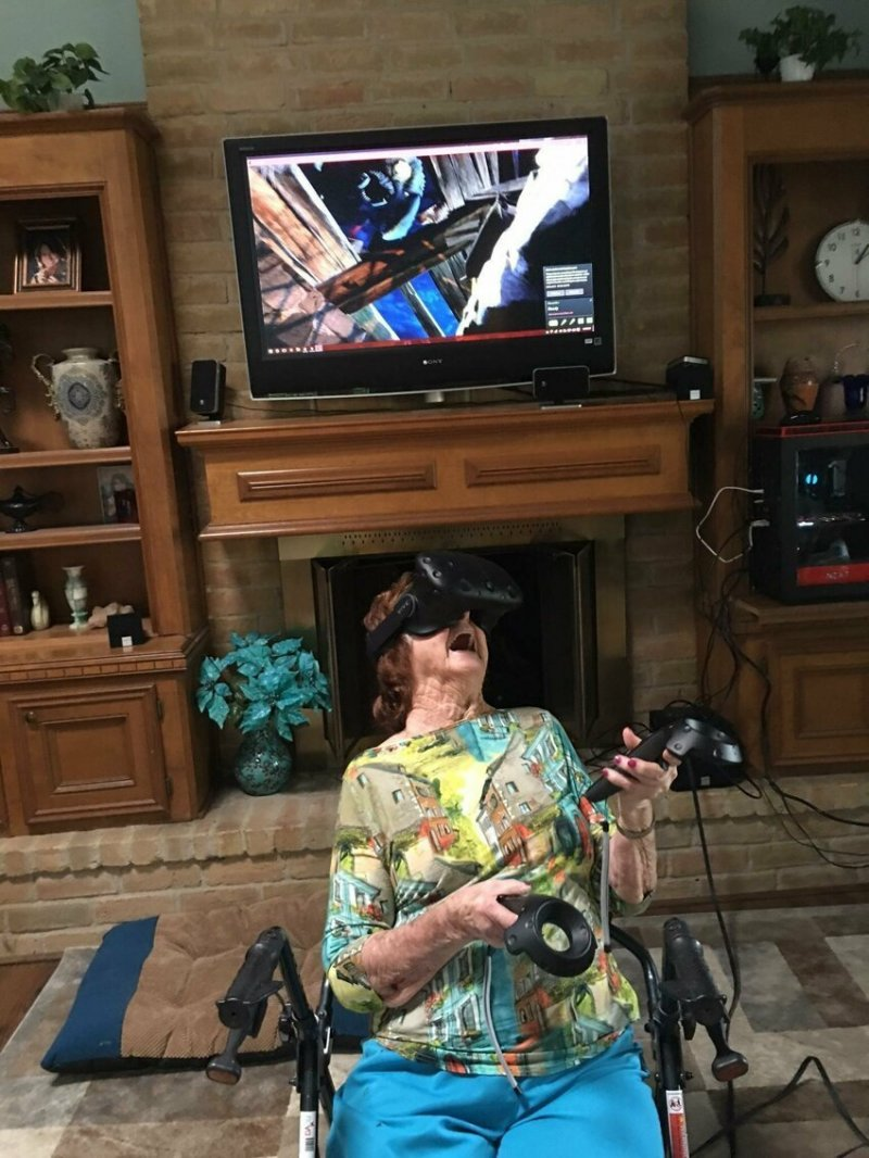 Пожить в виртуальном мире