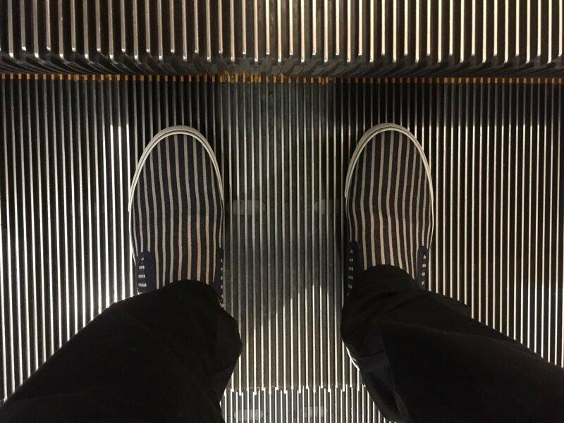Идеально gif, лестница, лестницы, подборка, прикол, эскалаторы