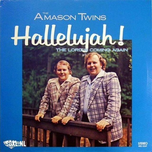 The Amason Twins – Hallelujah! The Lord's Coming Again (1975)