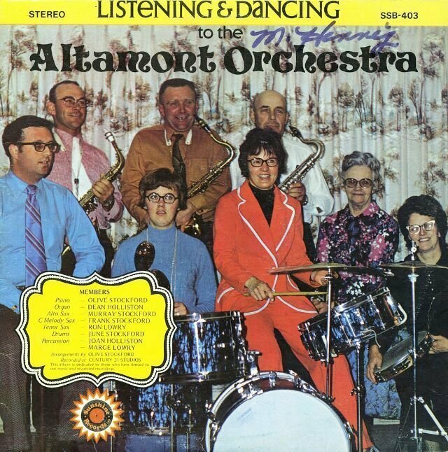 Altamont Orchestra – Dancing to the... Altamont Orchestra (1974)
