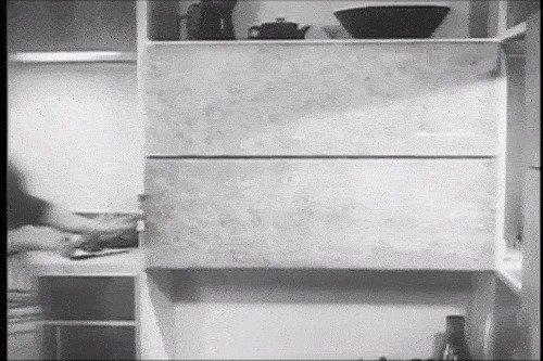 Идеальная кухня по задумке дизайнеров 60-х
