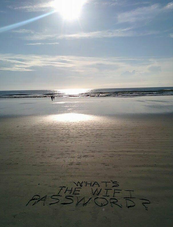 Когда для счастья не хватает сущего пустяка... вот это да, забавно, находки, неожиданности, пляжи, смешно, странные вещи, удивительное рядом