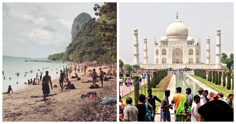 Достопримечательности со всего мира в Instagram'е и в реальной жизни