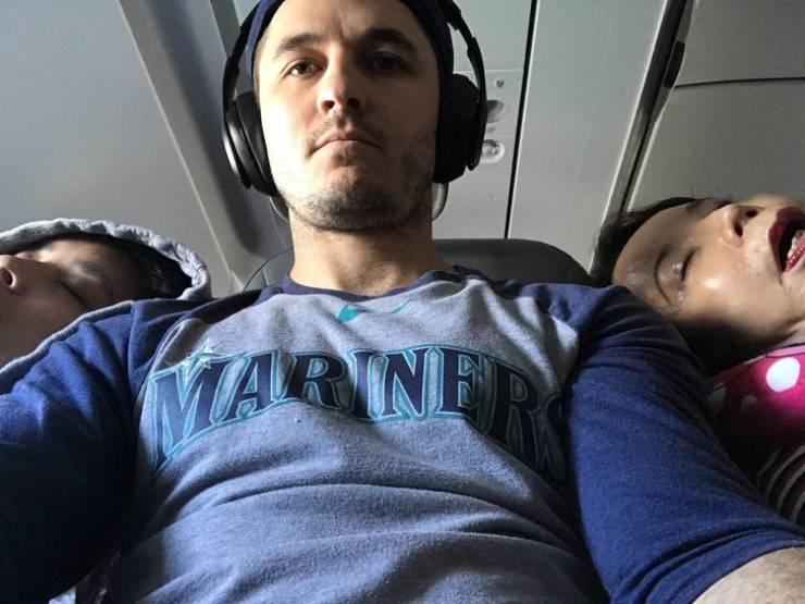Неудачное место в самолете