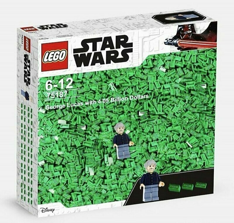 Джордж Лукас и 4,05 млрд долларов