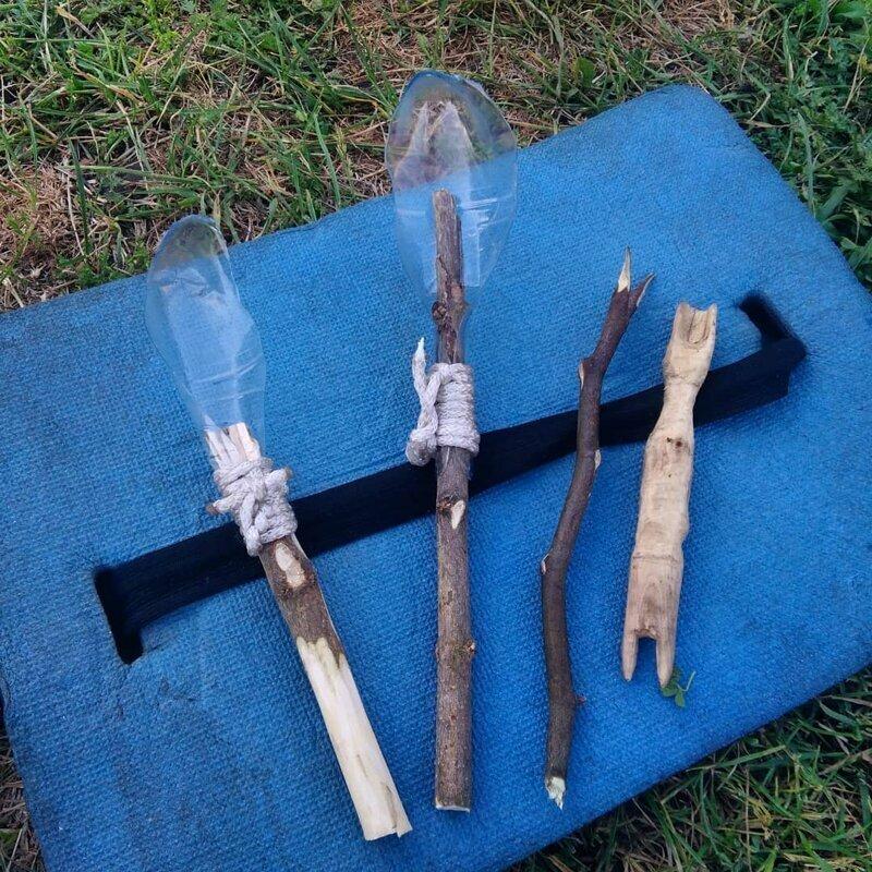 Забыли вилки и ложки на пикник гении из народа, народное творчество, оригиналы, смекалка, фото