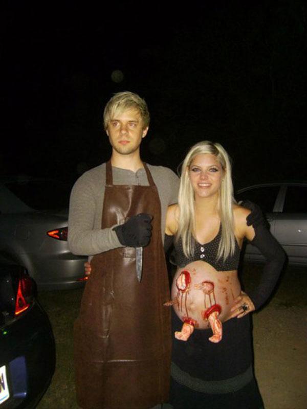 Это же Хэллоуин? влюблённые, прикол, свадьба, юмор