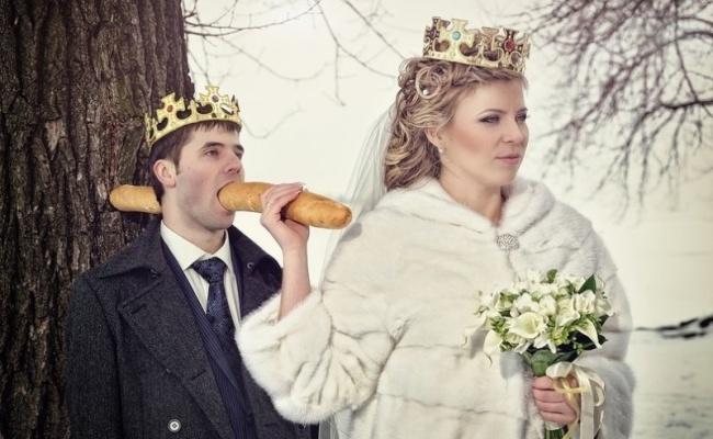 Хлебобулочное орудие убийства влюблённые, прикол, свадьба, юмор