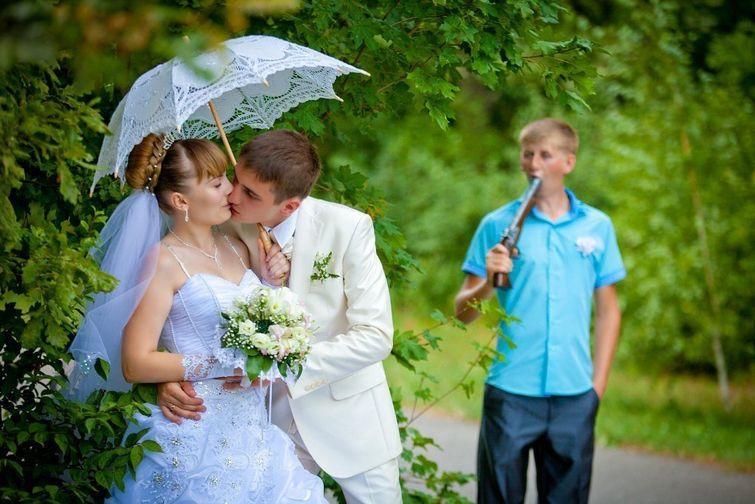 Драма на свадьбе влюблённые, прикол, свадьба, юмор