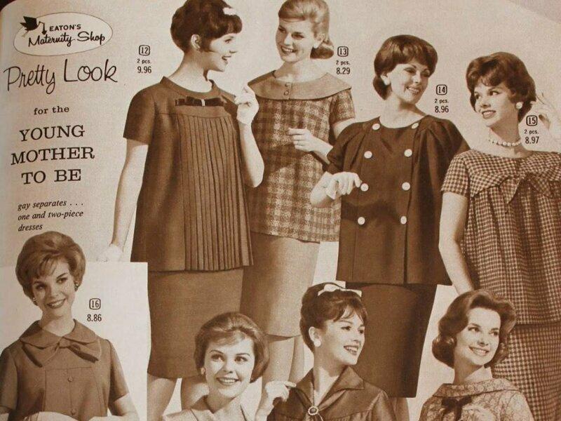 Если вы все-таки вышли на улицу — следуйте моде для беременных!
