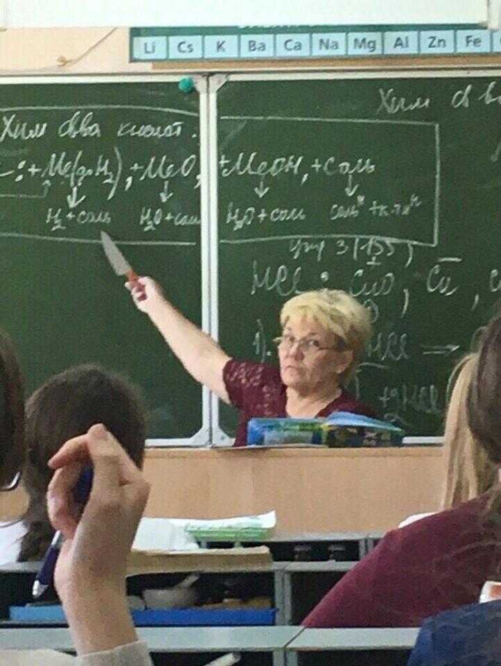 Ирина Петровна Тесак гимназия, образование, оружие, прикол, ученик, учитель, школа, юмор