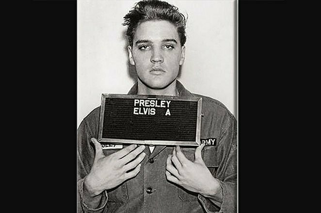 """Элвис Пресли: редкая фотография """"Короля"""" во время службы в армии 20 век, звезды, знаменитости, знаменитости в молодости, известные, известные люди, известные люди в молодости, старые фотографии"""