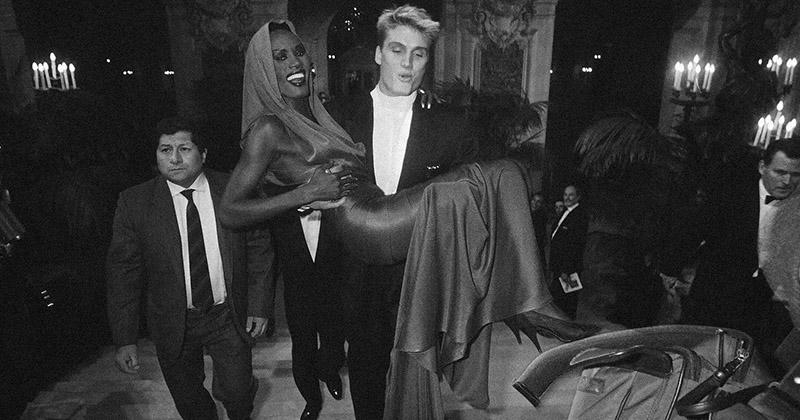 Иван Драго и его девушка: одна из самых известных пар 80-х - Дольф Лундгрен и Грейс Джонс 20 век, звезды, знаменитости, знаменитости в молодости, известные, известные люди, известные люди в молодости, старые фотографии