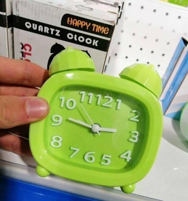 - Который час? - 11121!