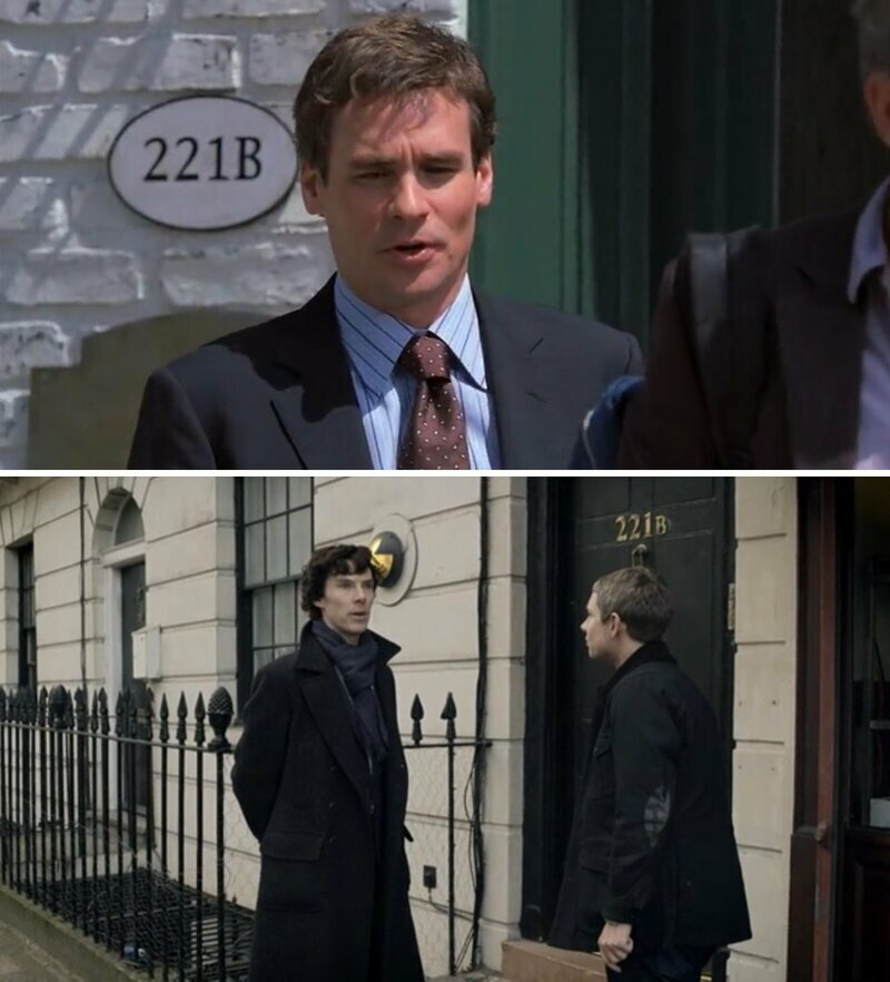 """В сериале """"Доктор Хаус"""" номер дома 221B, такой же как в книге """"Шерлок Холм"""" и в одноименном сериале забавно, интересное, кино, киноляпы, пасхалки, факт"""