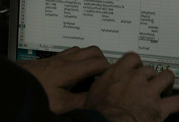 В фильме «Немыслимое» парень пытается обезвредить бомбу с помощью Excel забавно, интересное, кино, киноляпы, пасхалки, факт