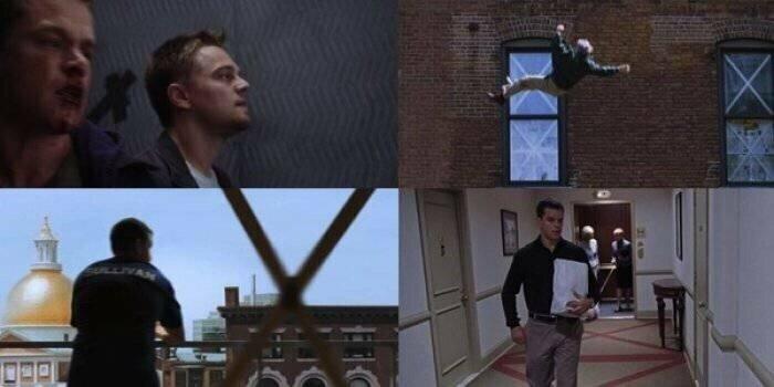 В «Отступниках» есть специальный символ, обозначающий смерть или возможную смерть героя — крестик забавно, интересное, кино, киноляпы, пасхалки, факт
