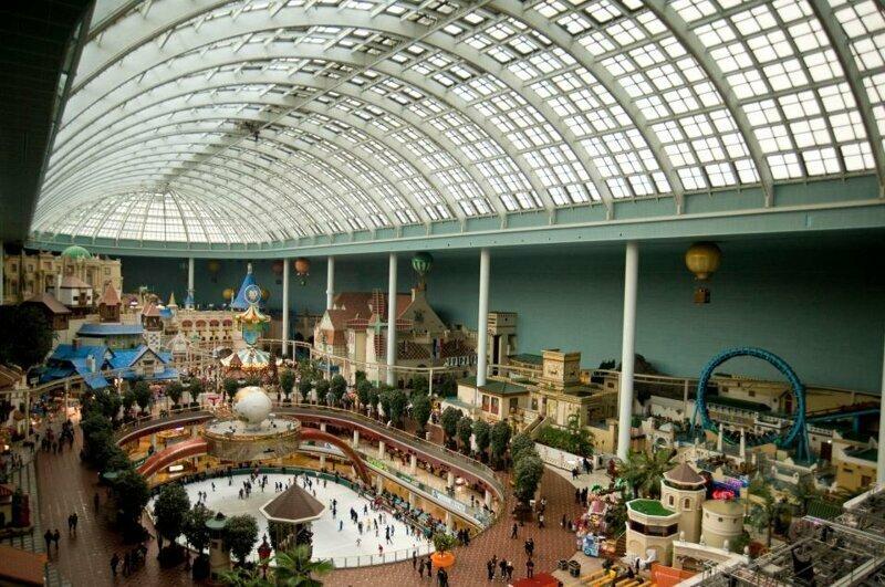 2. Lotte World, Сеул, Южная Корея - 6 млн посетителей за год