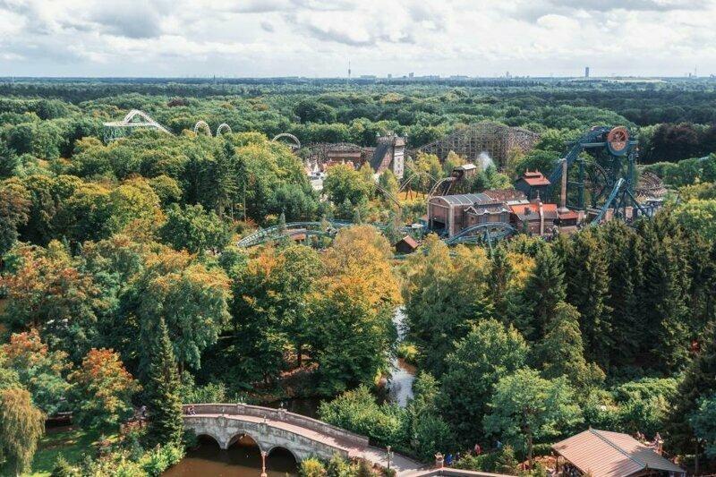 7. Efteling, Катшевеле, Нидерланды - 5,4 млн посетителей