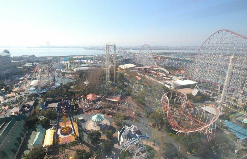 3. Nagashima Spa Land, Кувана, Япония - 5,9 млн посетителей