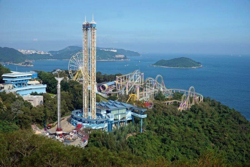 5. Ocean Park, Гонконг - 5,8 млн посетителей