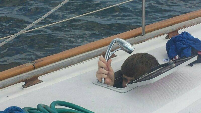 Тщетные попытки принять душ на яхте