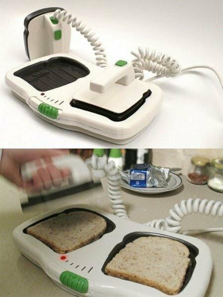 Реально работающий тостер