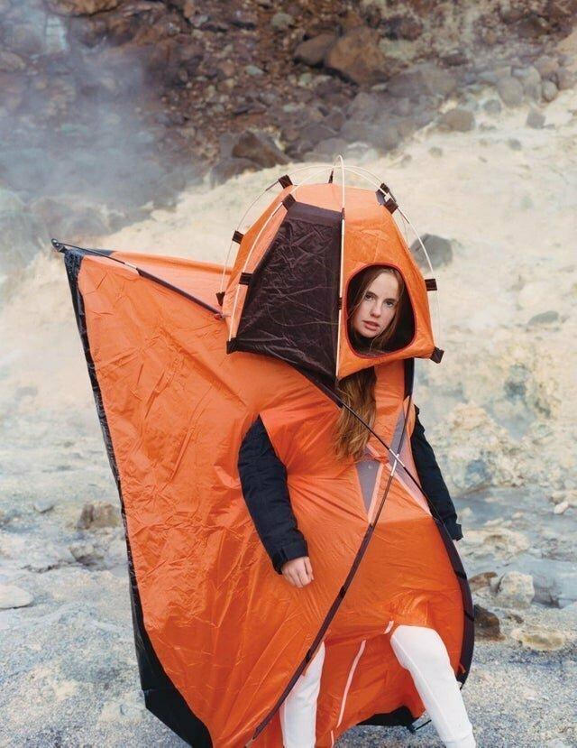 Костюм-палатка