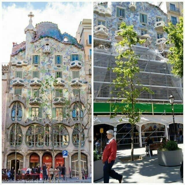 Этот турист специально приехал в Барселону, чтобы увидеть Каса-Батльо