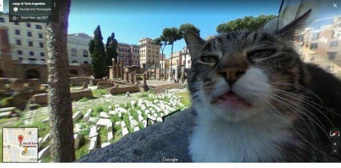 """""""Google Street. Рим"""""""
