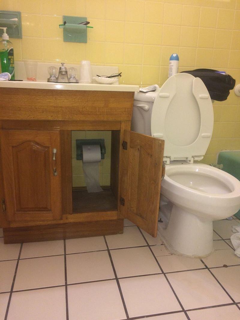 Шкафчик с ценностью издевательства, руки из жопы, сантехника, сралимазали, строители, стройка, унитазы, юмор