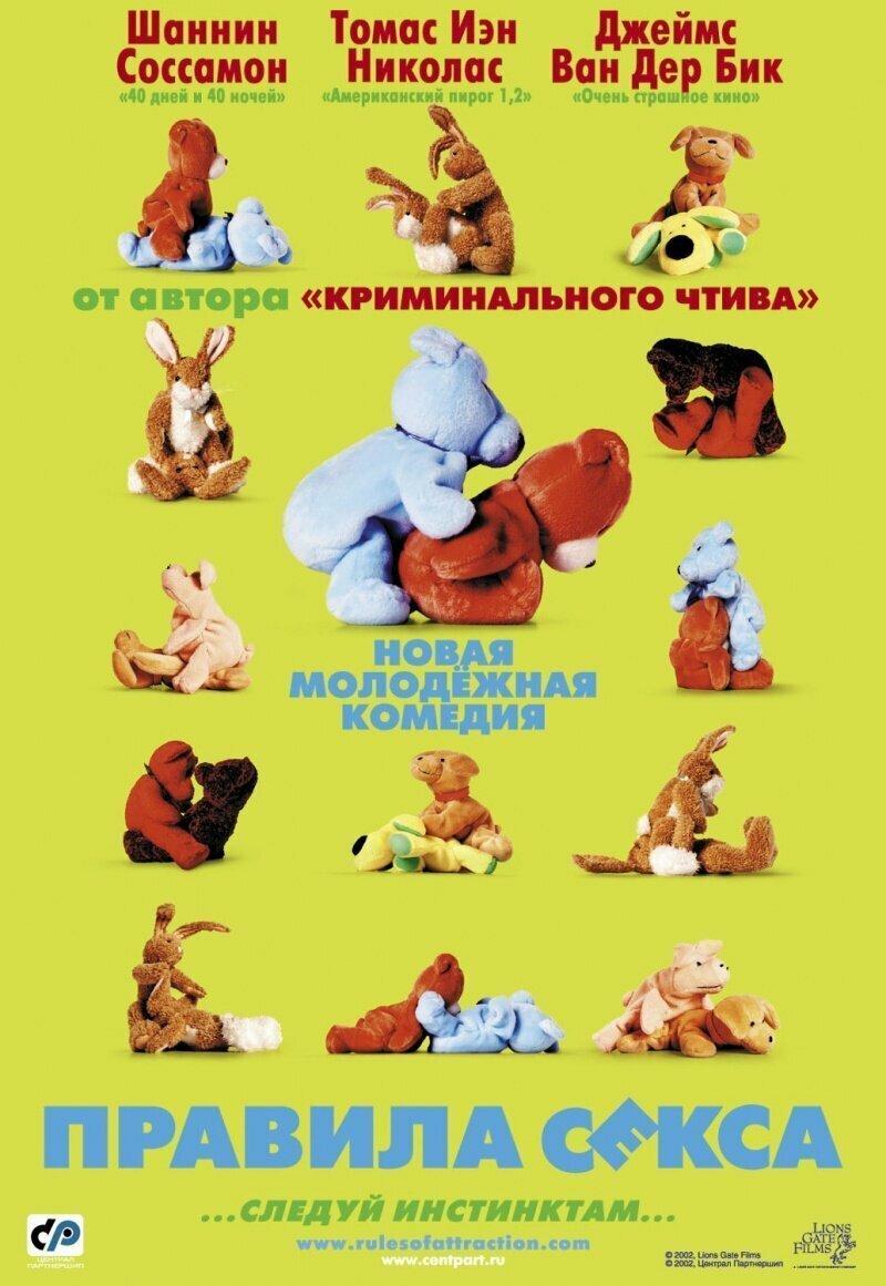 «Правила секса» (2002) интересное, постеры, цензура
