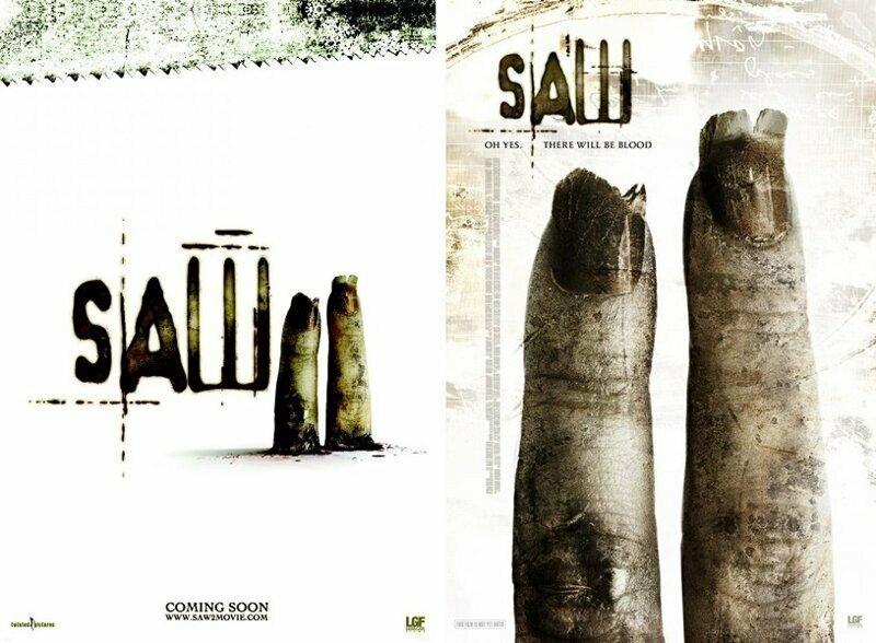 «Пила 2» (2005) интересное, постеры, цензура