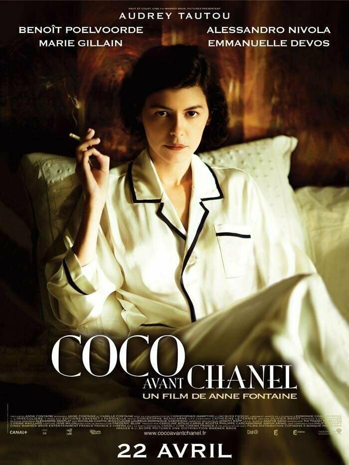 «Коко Шанель» (2009) интересное, постеры, цензура