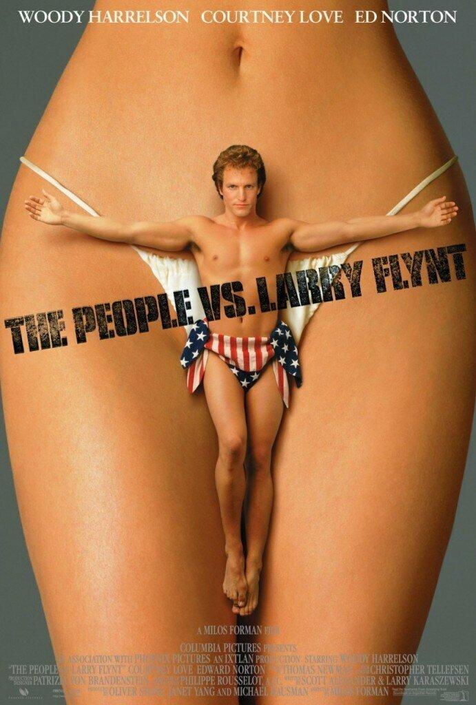 «Народ против Ларри Флинта» (1996) интересное, постеры, цензура