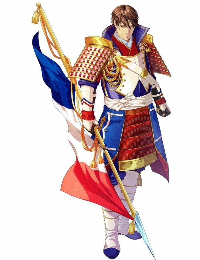 Франция аниме, искусство, олимпиада, олимпийцы, самураи, творчество, художники, япония