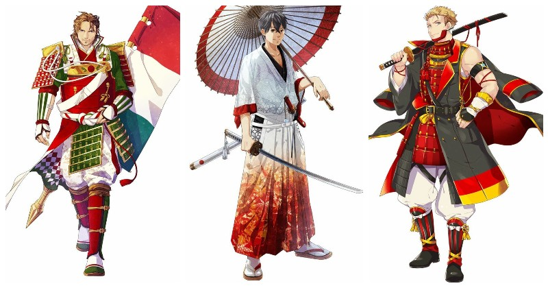 Италия, Япония и Германия аниме, искусство, олимпиада, олимпийцы, самураи, творчество, художники, япония