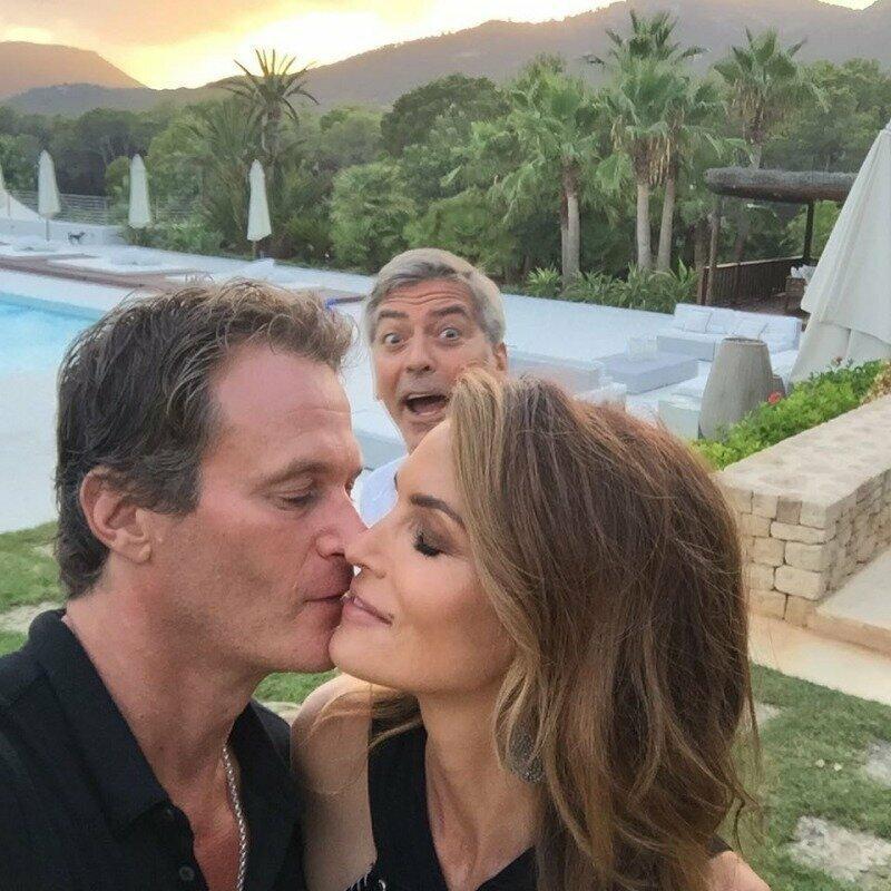 И напоследок, когда твое селфи зафотобомбил Клуни забавно, задний план, задний фон, подборка, селфи, смешно, фото, юмор