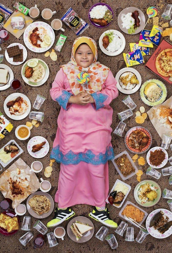Сити Калиеса Наталиа Мохаммед Каризал, 9 лет. Куала-Лумпур, Малайзия