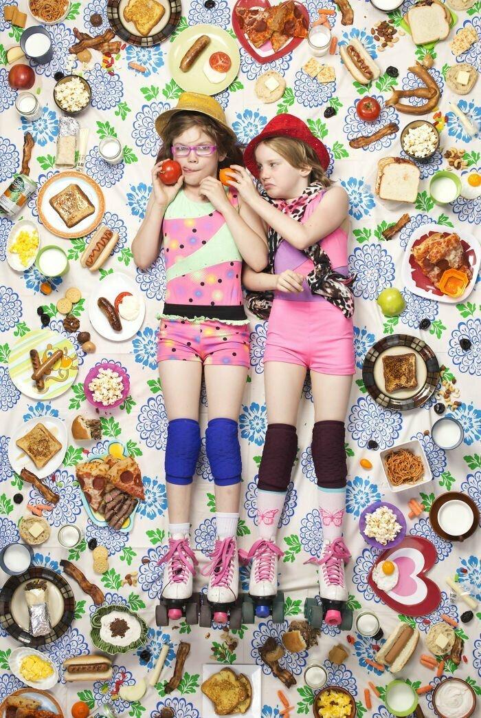 Александра (9 лет) и Джессика (8 лет), Льюис, Калифорния