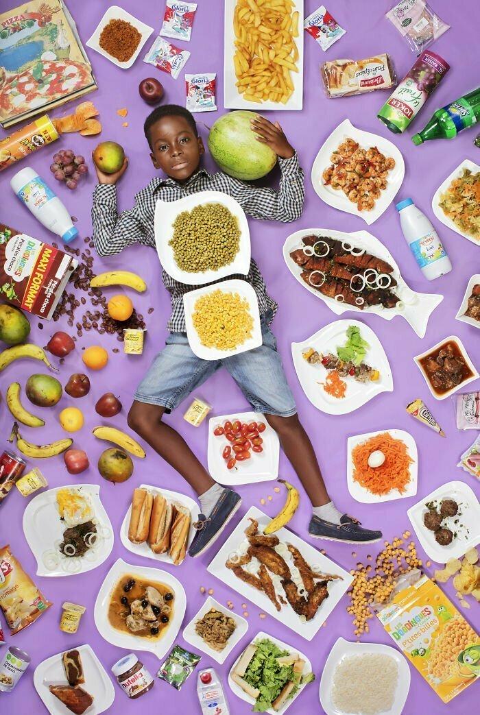 Фрэнк фадел Агбоменоу, 8 лет, Дакар, Сенегал