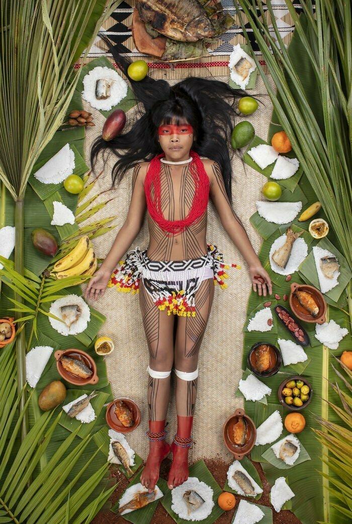 Кавакани Явалапити, 9 лет, штат Мату-Гросу, Бразилия